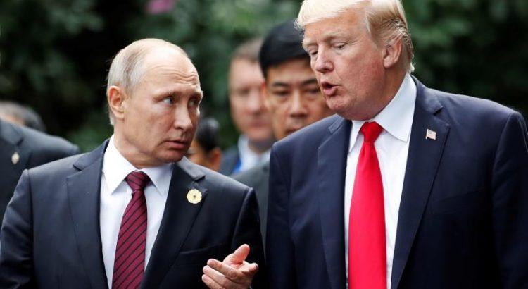 Trump Undang Putin ke Washington
