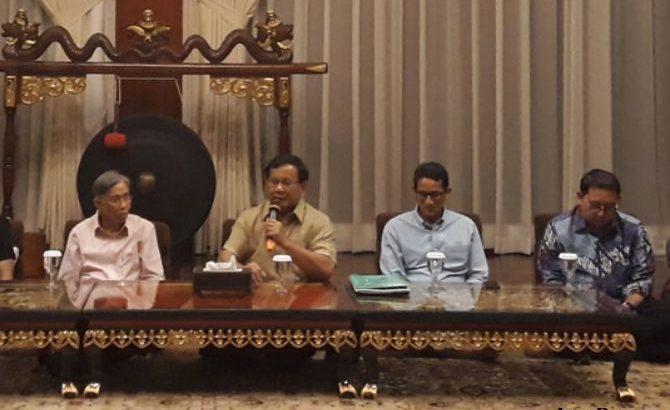 Kwik Kian Gie Gabung Koalisi Prabowo-Sandi?