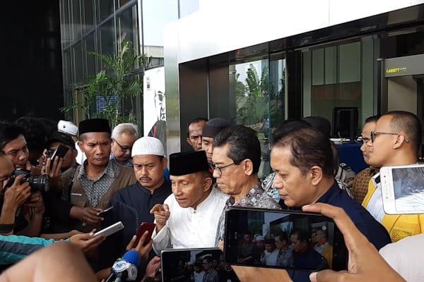 Amien Rais Gagal Temui Ketua KPK