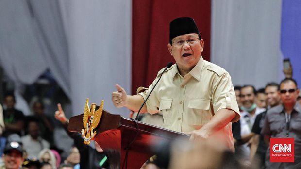 Prabowo Ditentang Pendukungnya Terkait Palestina-Israel